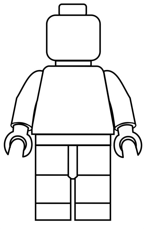 Lego Minifigure Coloring Pages Free Quot Make Your Own Quot Color In Lego Mini Figure Printables by Lego Minifigure Coloring Pages