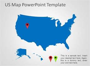 united states map powerpoint templates united free
