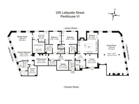 new york condo floor plans 17 best images about penthouse on pinterest nyc