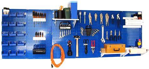 work bench organizer wall control master workbench metal pegboard tool organizer shop your way online