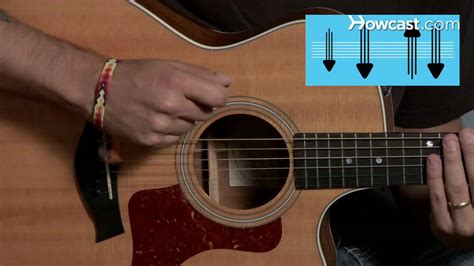 tutorial guitar strumming how to play strum pattern 2 guitar lessons youtube