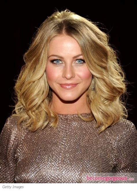 juliannehough curly bob wavy bob hairstyle backhough wavy long bob hairstyle