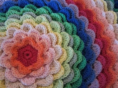 Flower Cushion ravelry blooming flower cushion pattern by of