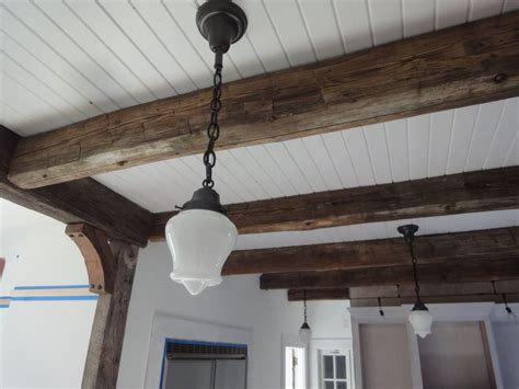 wooden beam ceiling 10 ways to improve your beadboard ceiling