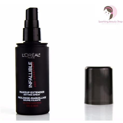 Harga L Oreal Setting Spray l oreal infallible pro spray set makeup extender