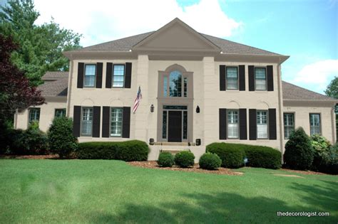 beige exterior paint what did they choose exterior paint colors revealed the