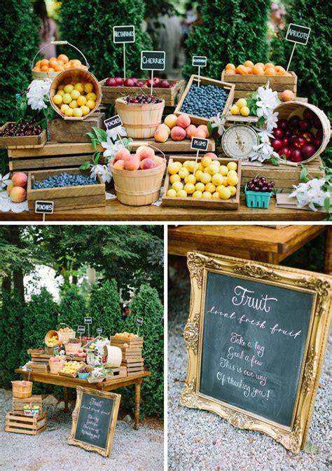 Wedding Favors Market by 20 Farmer S Market Wedding Details Southbound