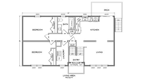 cape cod modular floor plans bl001 cape cod modular home floor plan 01 glenco inc