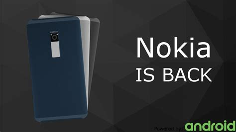 nokia android phone concept nokia with android concept features back touch area metal