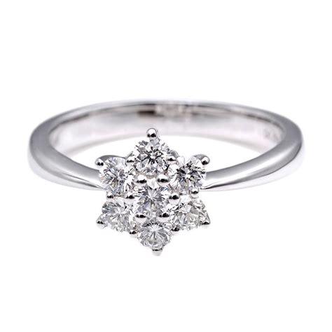 Cincin Berlian Eropa Emas Putih 16 jual tiaria dhtxhjz033 perhiasan cincin emas putih dan berlian white gold 18k harga
