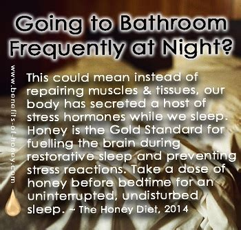 having to go to the bathroom at night too frequently