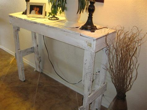 diy pallet hall table project  pallets