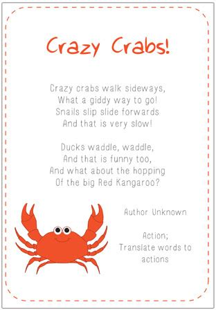 new year poems ks1 crabs poem eyfs and ks1 free early years