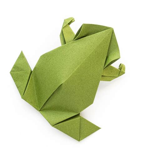 Paper Folding Frog - best 25 origami frog ideas on jumping frog