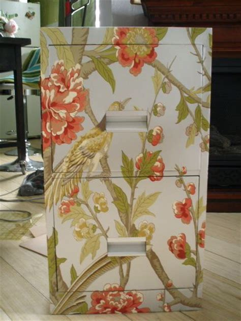 Spray Decoupage - 25 best ideas about file cabinet makeovers on