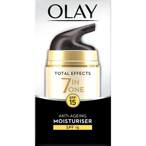 Olay Total Effect 7 In 1 Day olay total effects 7 in 1 anti ageing day moisturiser spf15