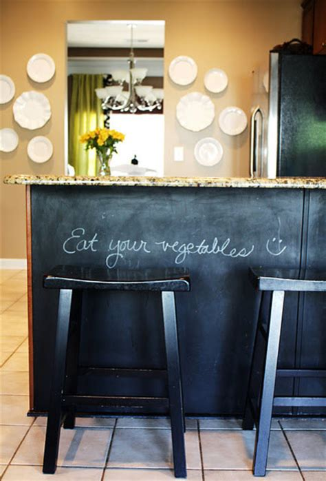 Kitchen With Chalkboard Contemporary Kitchen