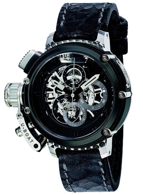 u boat horloge u boat skeletteert de chimera chronograaf