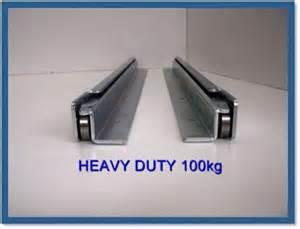 Cabinet Hinges Melbourne 800mm 4wd Drawer Runner Fridge Slide Undermount Slide