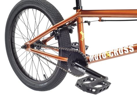 motocross bmx bikes united bikes quot motocross quot 2018 bmx bike metallic copper