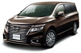Nissan Elgrand Review Australia 2014 Nissan Elgrand Facelift Has The Grille