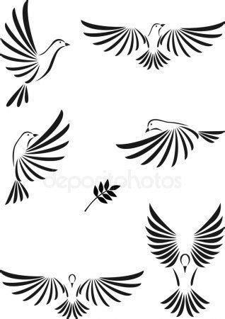 Voo da pomba | Meus desenhos | Tatuagem espirito santo