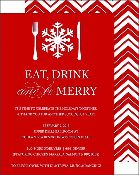 best christmas templates for corporate 8 company invitation template sletemplatess sletemplatess