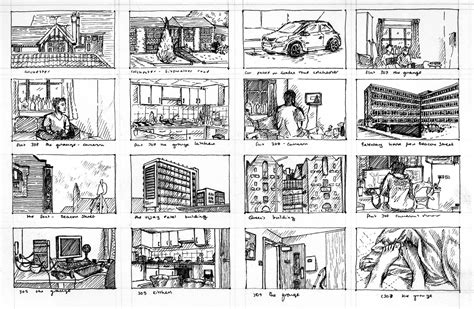 4 Thumbnail Sketches by Artstation Fineliner Thumbnail Sketches Fiona