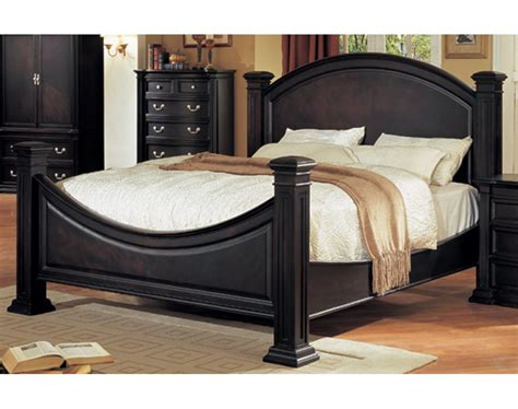 bed espresso grace bedroom set espresso finish
