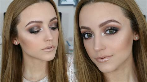 eyeshadow tutorial kathleenlights smokey eyes nude lips tutorial using morphe