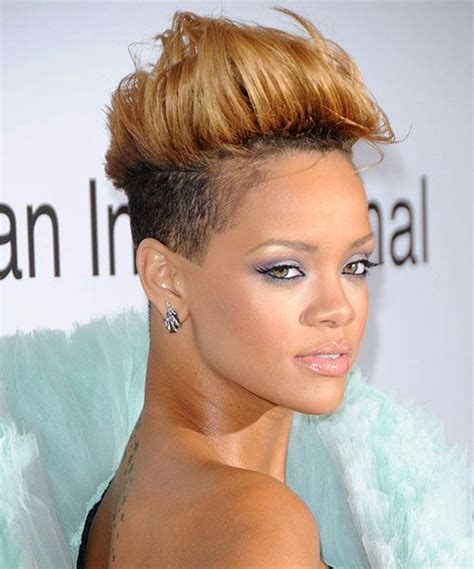 black women with short blonde mohawks 50 mohawk hairstyles for black women mohawk hairstyles