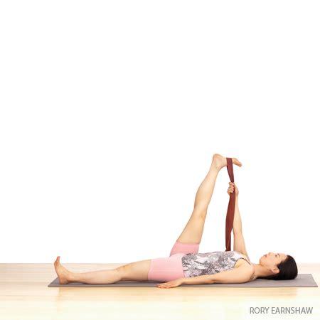 Reclining Big Toe by Reclining To Big Toe Pose Supta Padangusthasana
