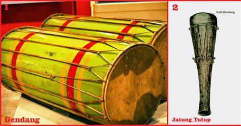 alat musik tradisional kalimantan timur lengkap gambar