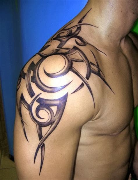 male shoulder tattoos back tattoos for best tattoos