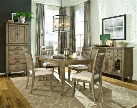 Legacy Classic Brownstone Slat Back Legacy Classic Brownstone 5 Dining Set With Leg Table And Slat Back Side Chairs