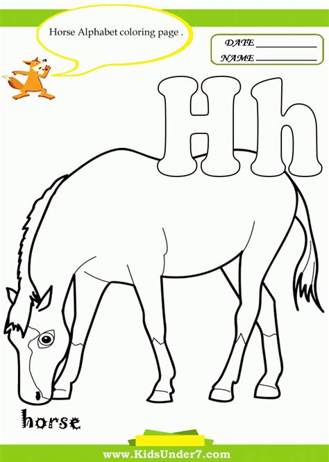color that starts with h things that start with the letter h coloring pages