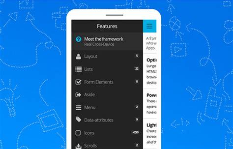 creare app mobile 10 frameworks per creare applicazioni mobile con html css