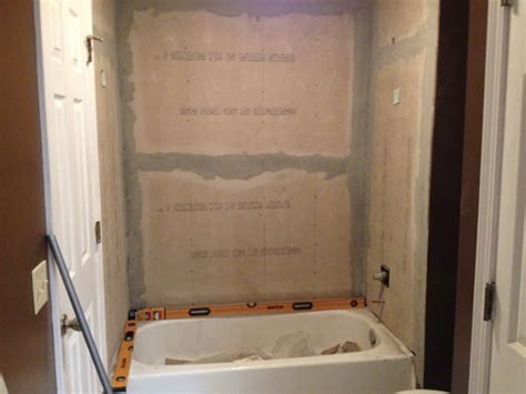 Retile Bathroom Shower Retiling A Shower Planitdiy