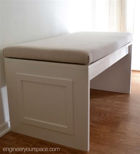 how to build a small bench diy mdf bench smart diy solutions for renters