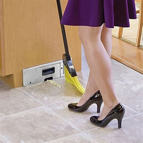Under Cabinet Vacuum This Kitchen Cabinet Vacuum Helps Clean Hard To Reach