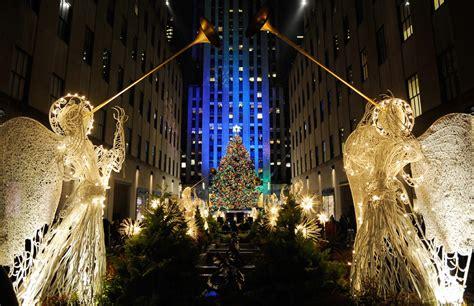 imagenes navidad en nueva york en fotos el mundo se llena de luz y de color para recibir