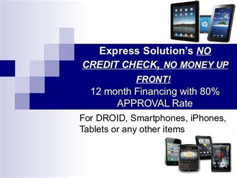 no credit check financing for cell phone dealers