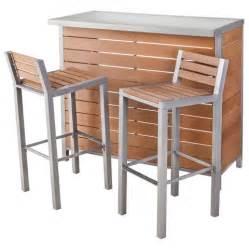 patio furniture bar sets bryant faux wood patio bar furniture set thres target