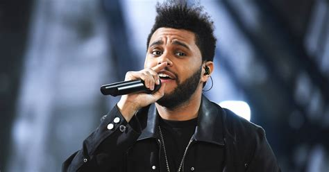 the weeknd the singer on the charts the weeknd s starboy rockets to number