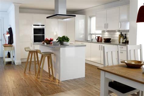 White Country Kitchen Ideas wren kitchens autograph white gloss