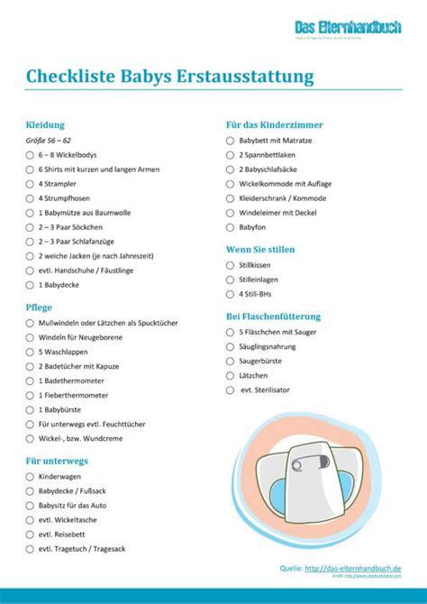 checkliste baby kinderzimmer die besten 25 checkliste baby erstausstattung ideen auf