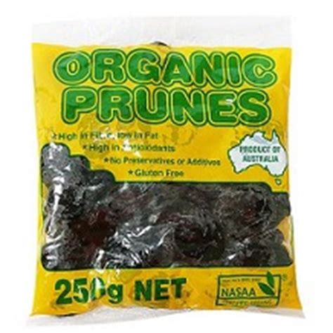 Pitted Prunes Plum 500g From Australia prunes australian 250g nurtured earth organics
