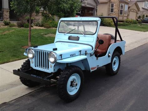 1950s Jeep 1950 Jeep Cj3a Photos Informations Articles Bestcarmag