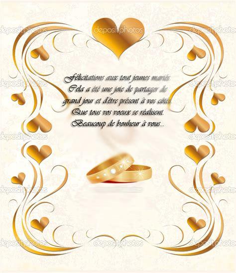 Mod Les De Lettre De F Licitation Pour Une Naissance es de voeux mariage texte id es de textes cartes f