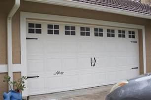 pimp your garage door with these diy makeover ideas